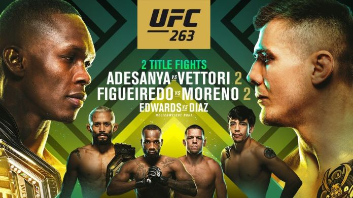 UFC 263 live stream: how to watch Israel Adesanya vs Marvin Vettori 2 PPV  for free, full fight | What Hi-Fi?