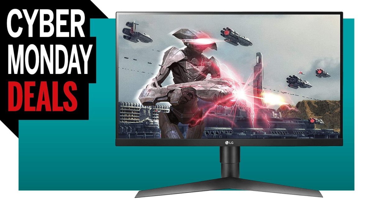 This 27-inch 144Hz G-Sync certified gaming monitor is just $247 for Cyber Monday | PC Gamer
