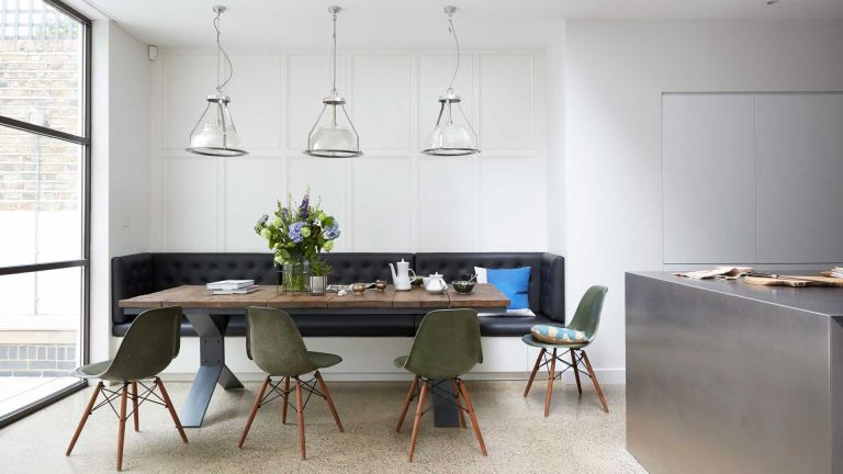 statement dining room lighting ideas