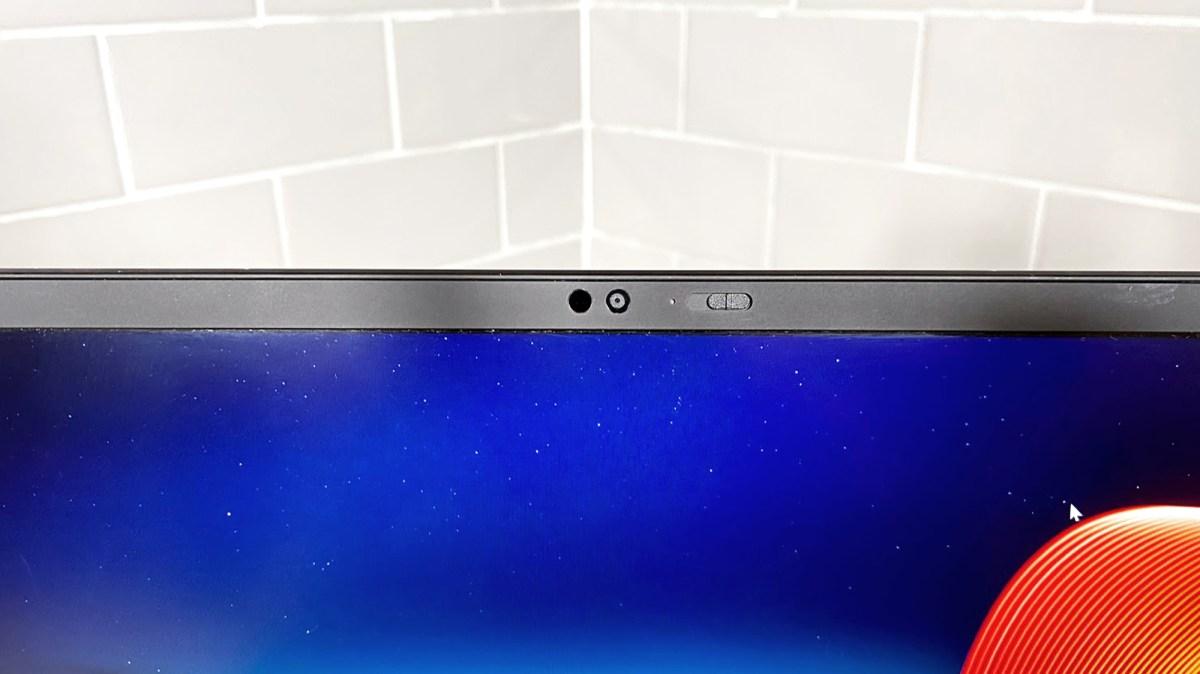 Lenovo ThinkPad X1 Nano review: webcam