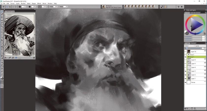 tR5yHghKiD8UDEfBpphxf6 Create portrait art in Corel Painter Random