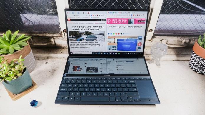 Best Windows Laptop: Asus ZenBook Duo 14