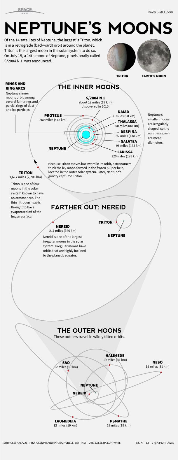 hight resolution of diagram for neptune
