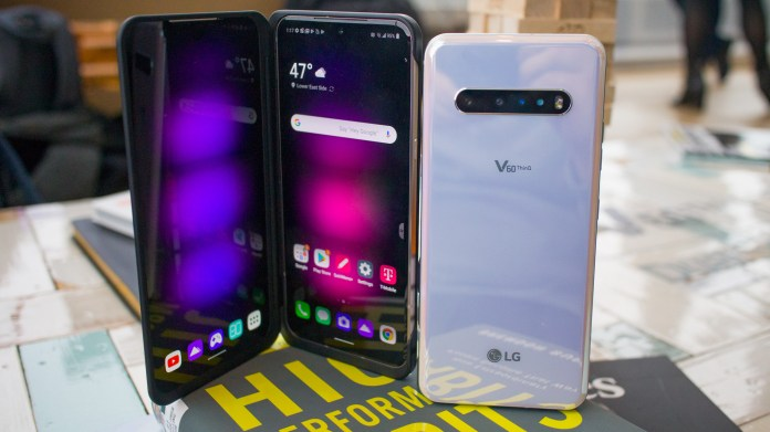 LG V60 is sort of a foldable phone, with two 6.8-inch displays, a huge battery and 5G | TechRadar