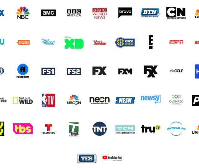 Youtube Tv Channels Heres Every Available Channel On Youtube Tv Techradar