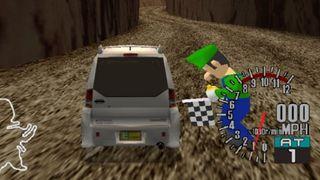 Sega GT Luigi kamera görüntüsü