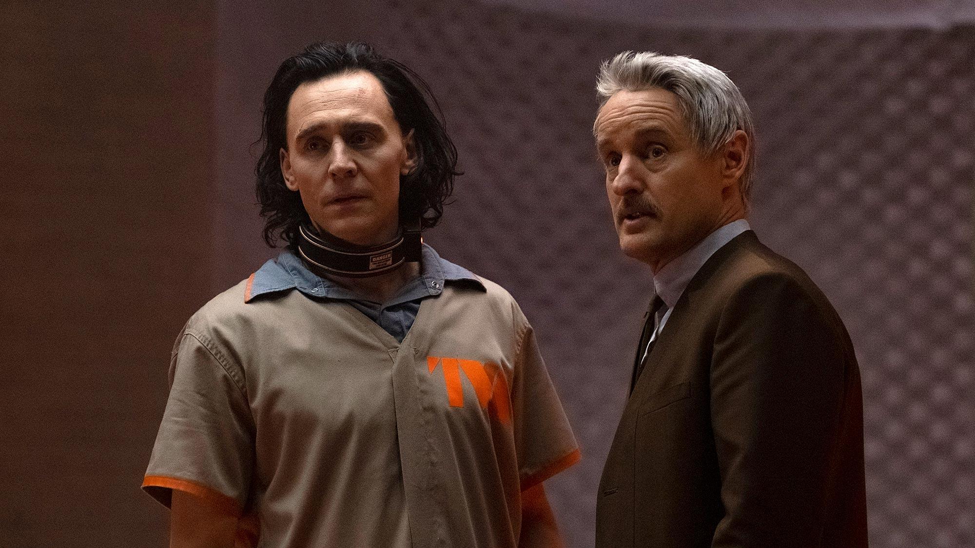 Loki show on Disney Plus with Tom Hiddleston and Owen Wilson