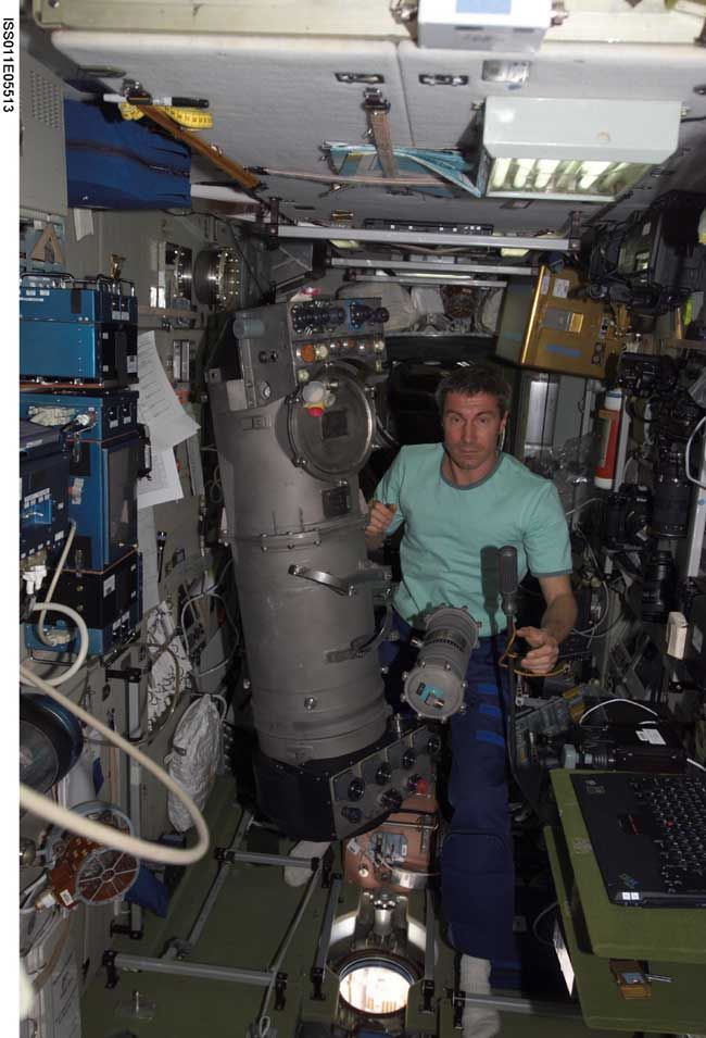 Space Station Crew to Ignite First OxygenGenerating