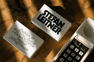 These bold cards really reflect Stefan Leitner's personality