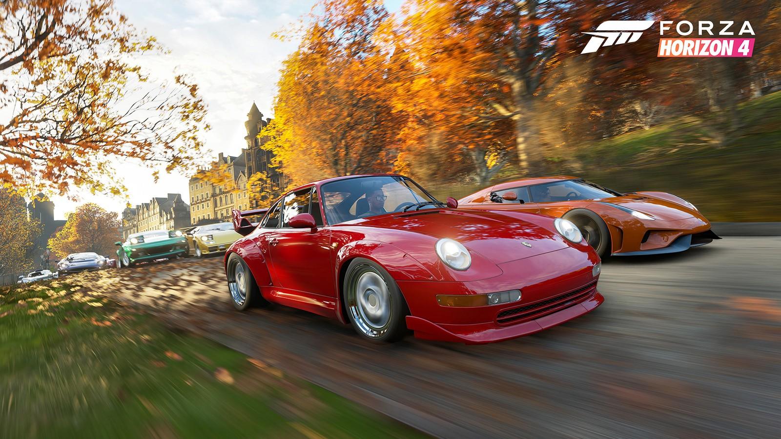 Forza Horizon 4 brings the racing to the UK.