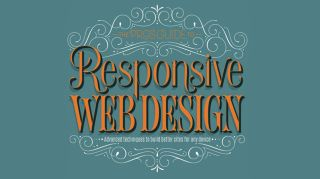 The pro's guide to responsive web design typographic title