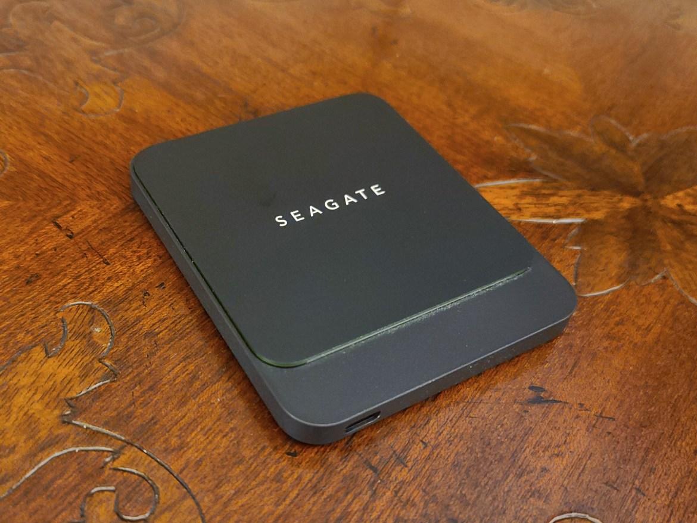 Best external hard drives: Seagate BarraCuda Fast SSD (1TB)