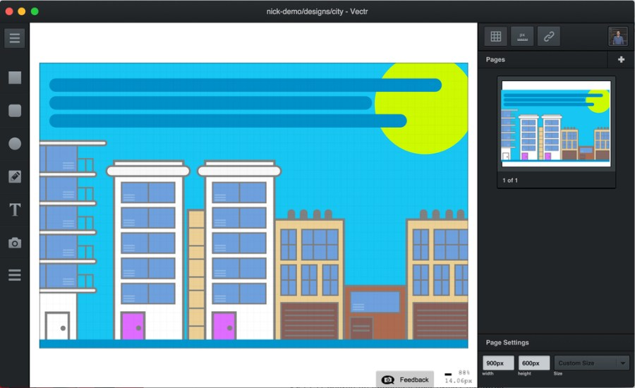 Vectr - free graphic design software