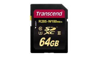 Best memory cards: Transcend SDXC UHS-II U3