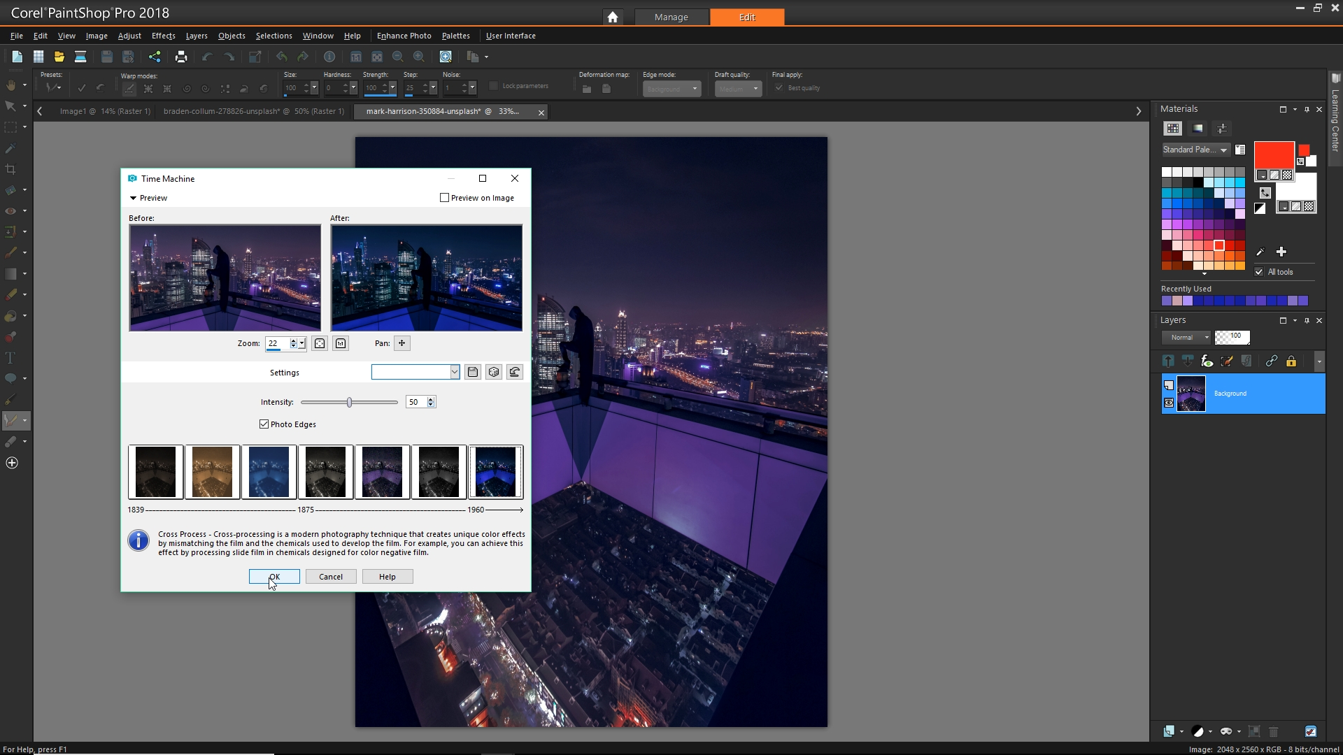 Photo editing with PaintShop Pro 2018 Ultimate