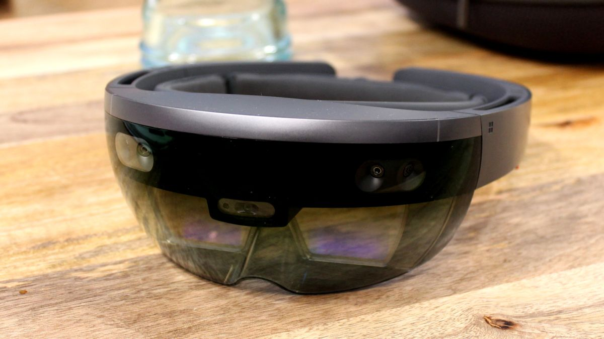Microsoft HoloLens hands on review  TechRadar