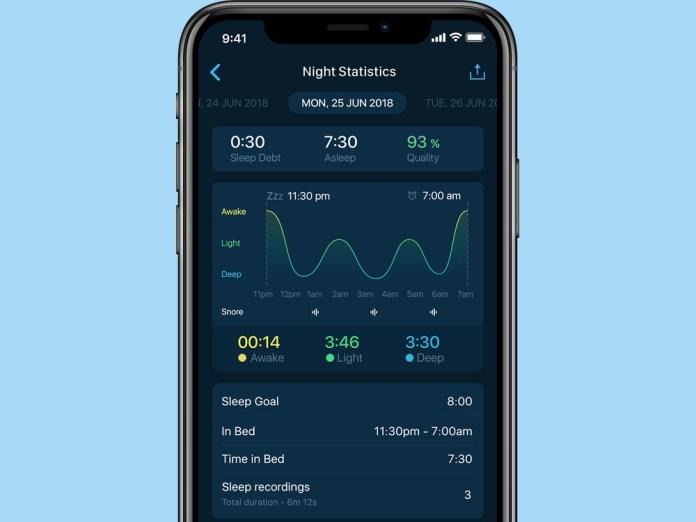 best sleep apps: Sleepzy