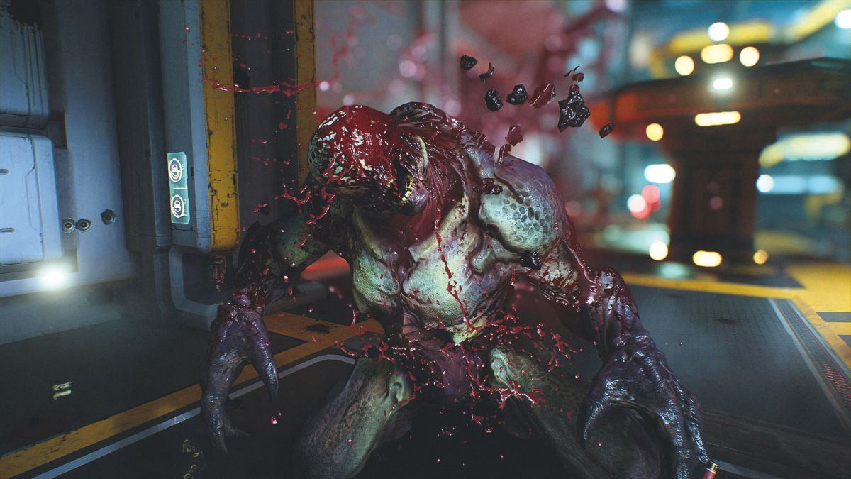xbox one gaming chairs kids swivel chair no guts, glory kill - why i love doom's brilliant reinvention of the melee takedown | gamesradar+