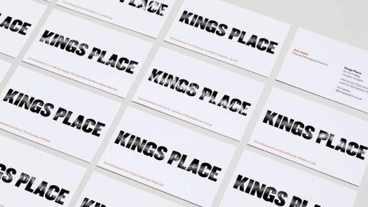 Kings Place branding