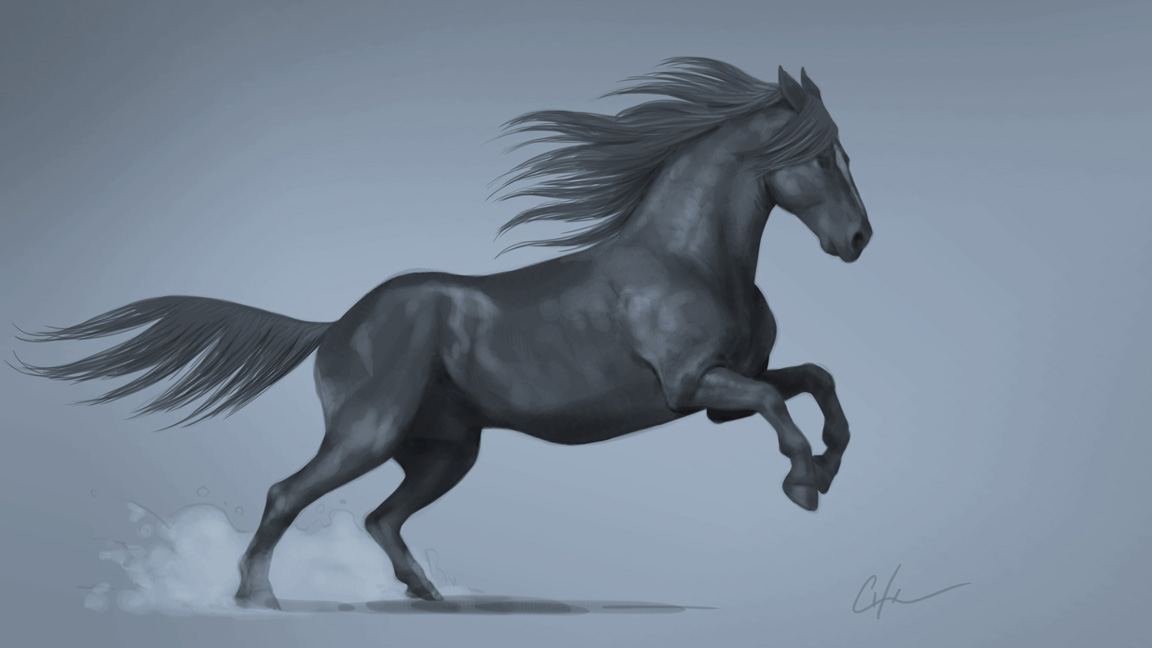 How To Draw A Horse Creative Bloq