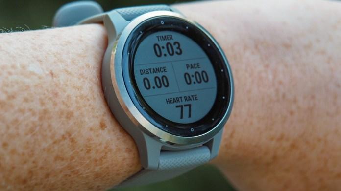 best fitness trackers: Garmin Vivoactive 4