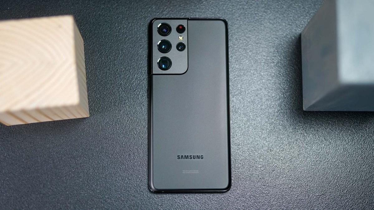 Samsung Galaxy S21 Ultra camera