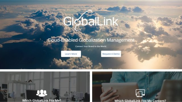 GlobalLink - Enterprise level translation and localization tools