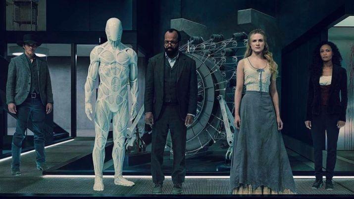 A promo shot for season 2 of Westworld