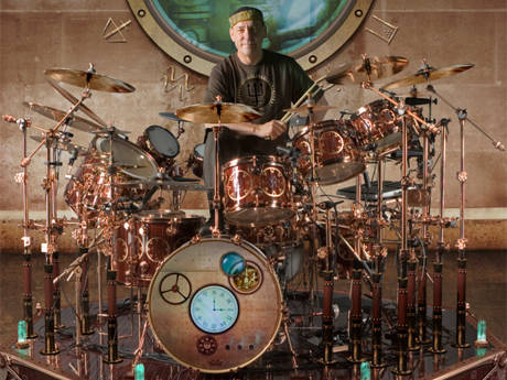 Neil Peart Drums - 2010 Tour
