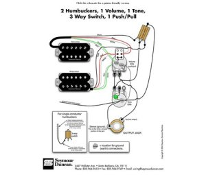 Seymourduncan Support Wiring Diagrams Awhile | circuit electronica