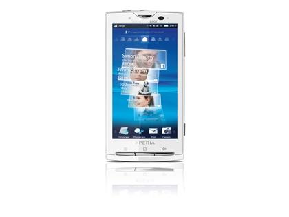 XperiaTM X10Orange 2 420 100 - TOP 10 celulares com câmeras 2010