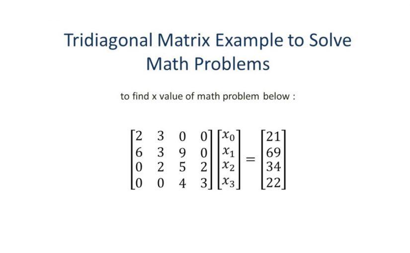 بحث رياضيات عن المصفوفات أنواعها واستخداماتها موسوعة