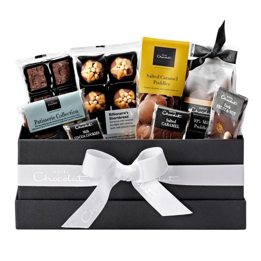 Everything chocolate gift hamper