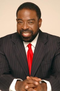 Les brown, motivational speaker, photo, Leslie