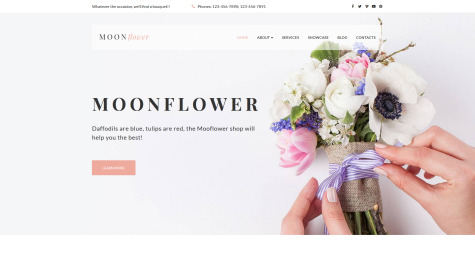 If you're looking for flower shop website themes for your online store you're at the right place. Flower Shop Web Template For Florist Business Motocms