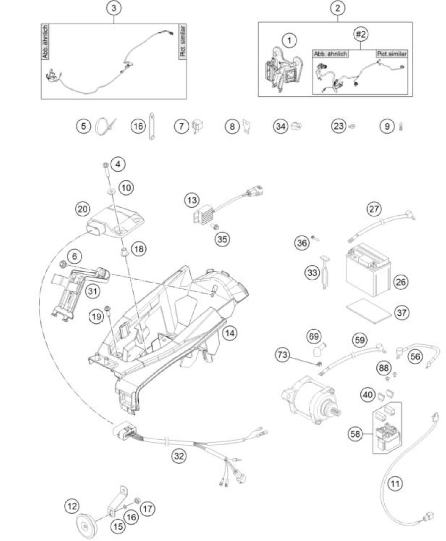 hight resolution of husqvarna wiring harnes