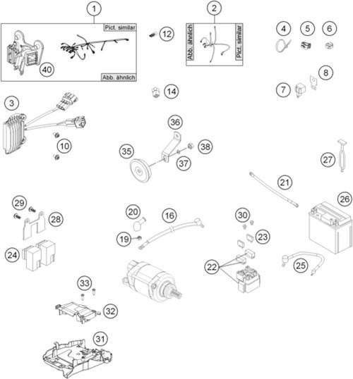 small resolution of wiring harness husqvarna husqvarna 2014 diagrams husq