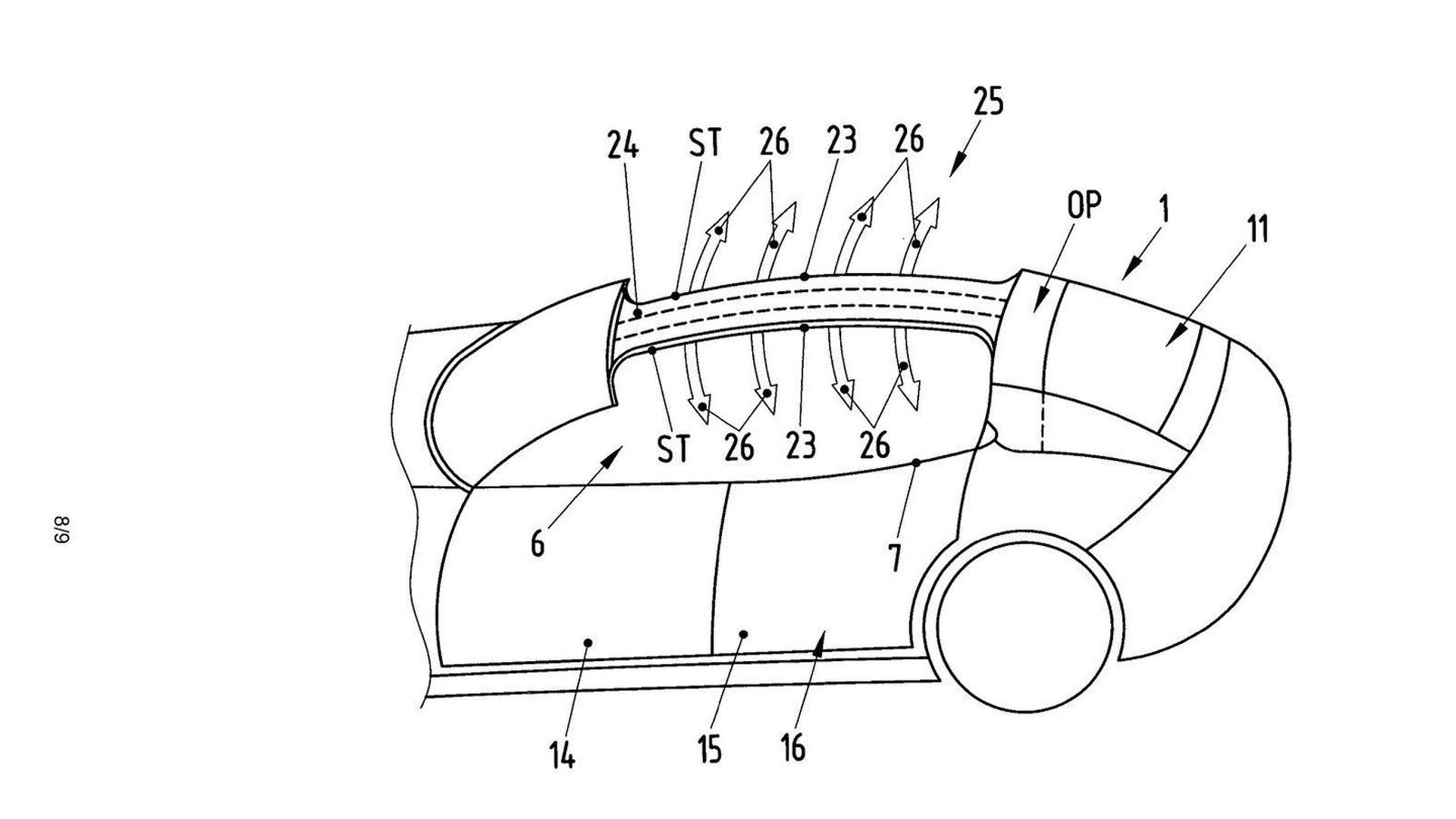 New Porsche Panamera Alleged Patent Sketches Show