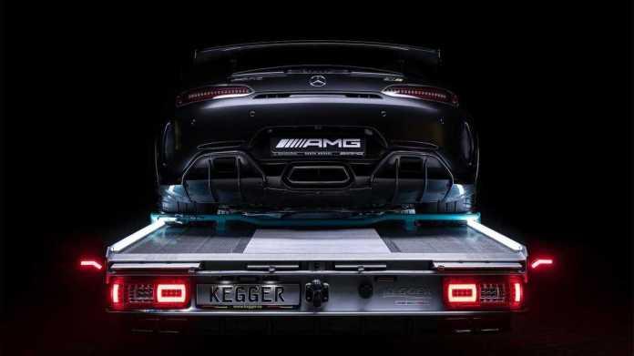 Mercedes Sprinter tow truck by Kegger (exterior)