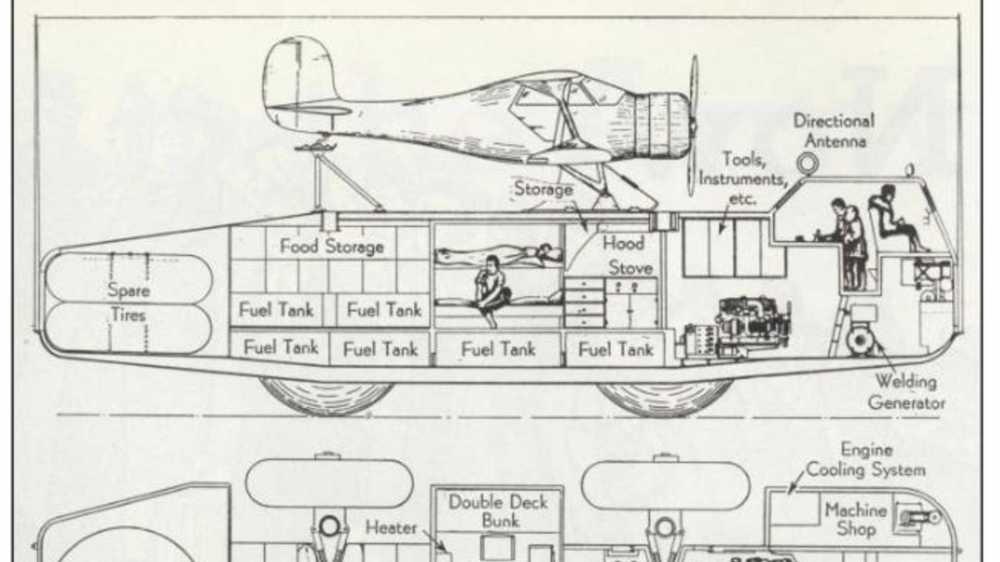 medium resolution of  1939 snow cruiser