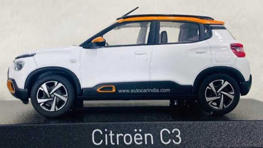 New Citroën C3 - Miniature