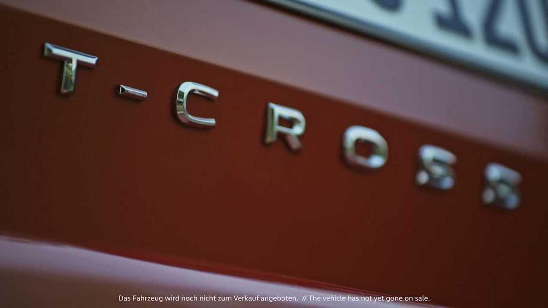 Volkswagen T-cross - New Teasers