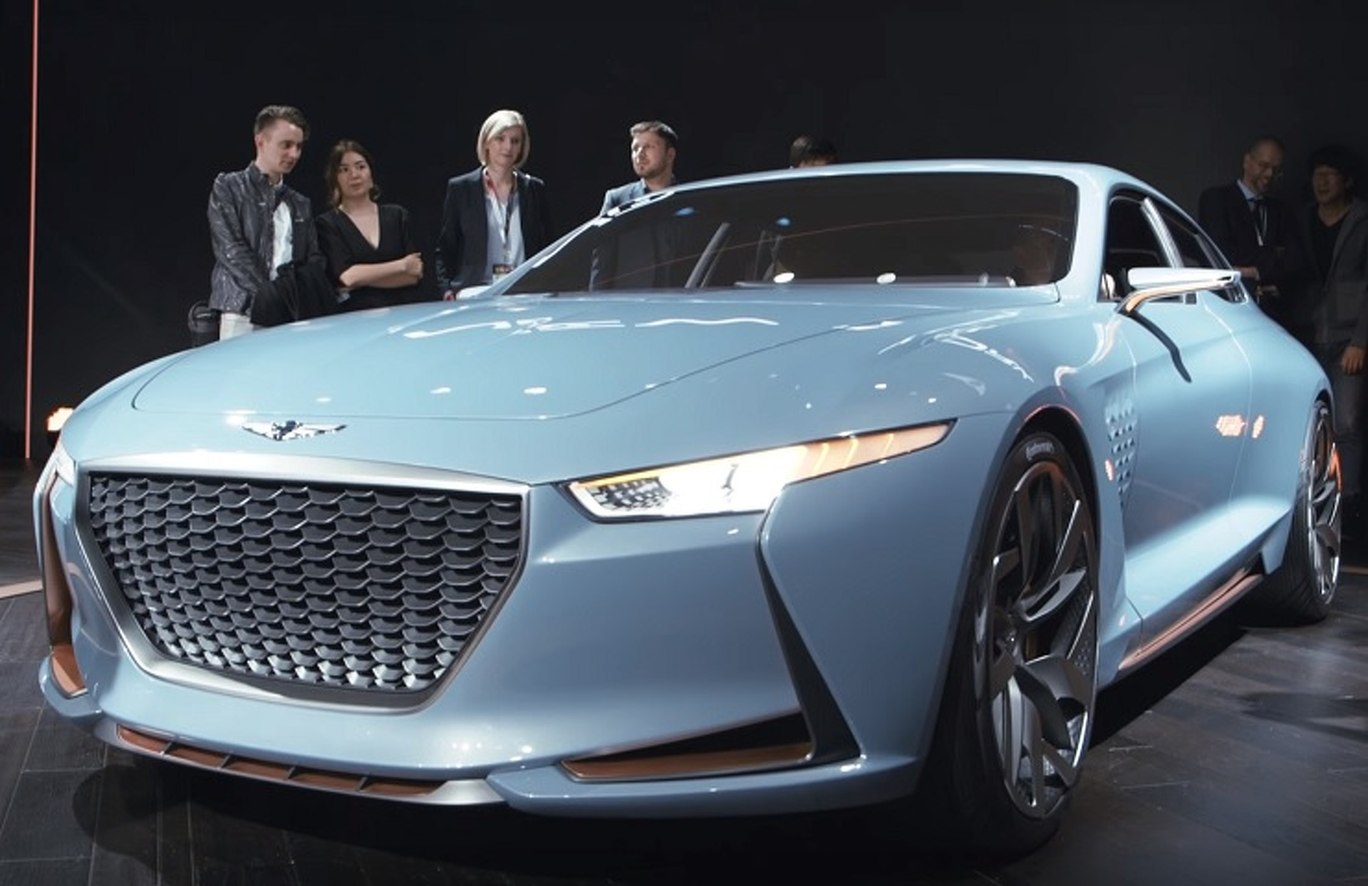 hight resolution of genesis has the luxury market dead in its sights with sporty new york concept