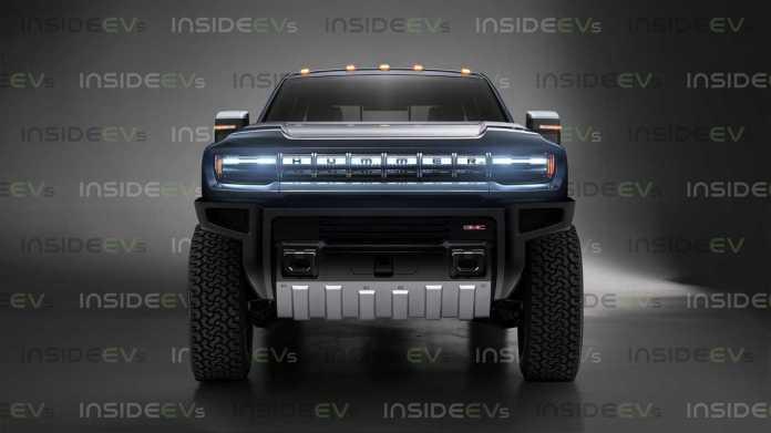 Hummer EV Pickup Truck Render