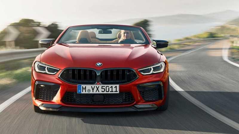 2019 BMW M8 Convertible
