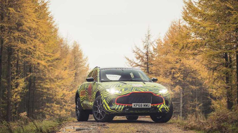 Aston Martin Dbx Teasers