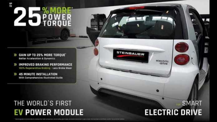 Steinbauer Also Had a Power Module For The Smart EVs