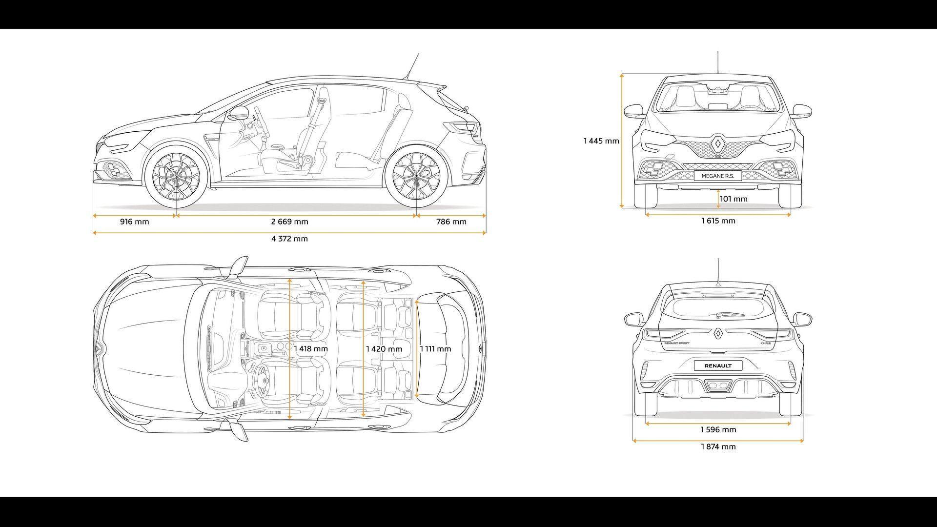 Novo Renault Mégane RS pode ser vendido no Brasil