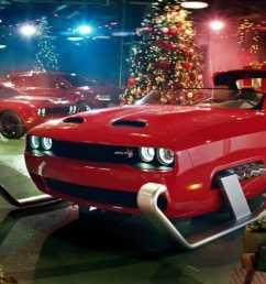 dodge challenger santa sleigh [ 1280 x 720 Pixel ]
