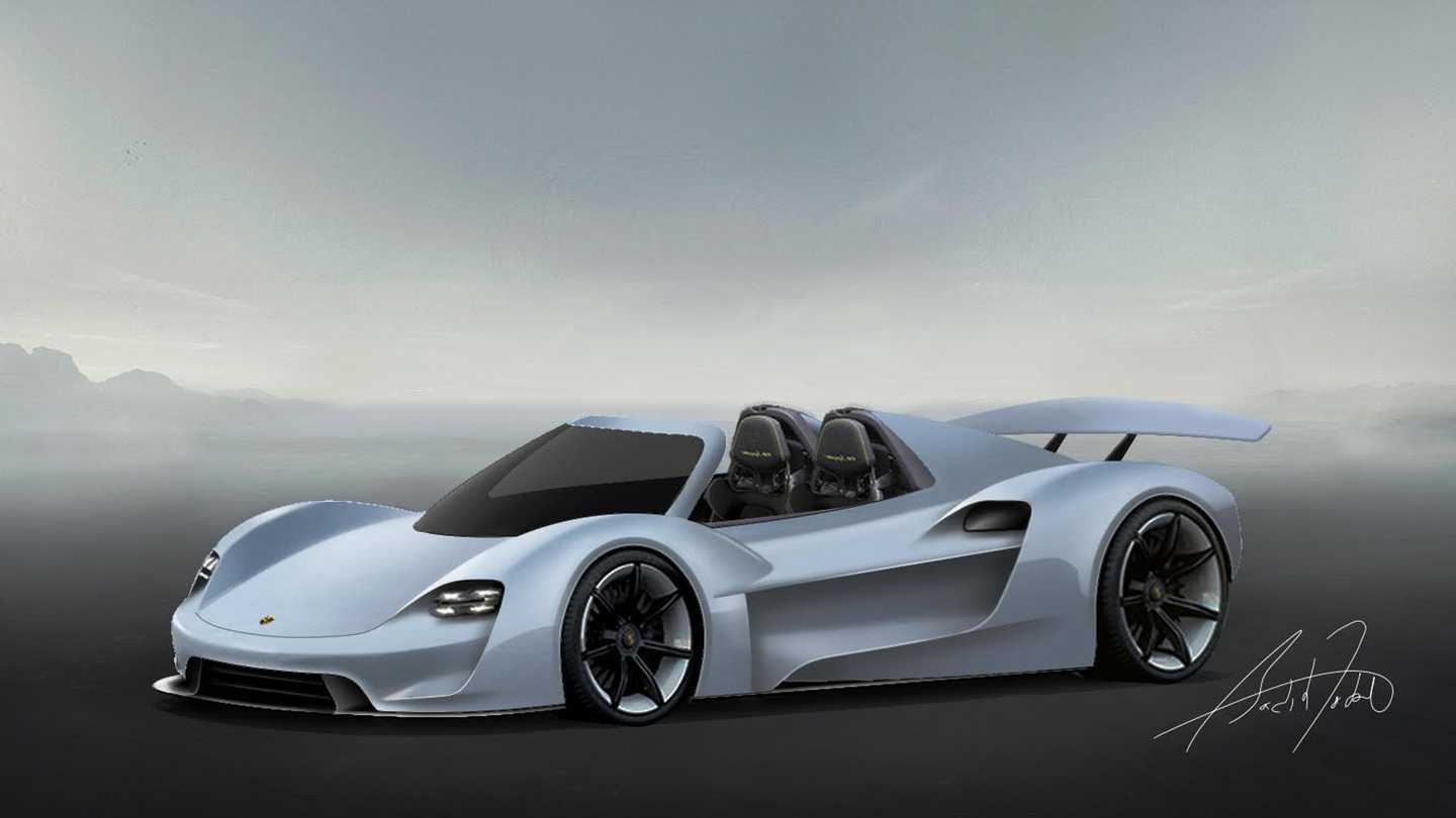 Fan Rendered Porsche 918 Successor